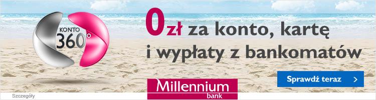 Konto osobiste millennium bank 360