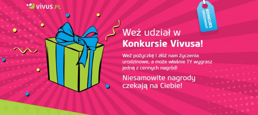 Konkurs Vivus 2017 weź udział w największym konkursie w Polsce!