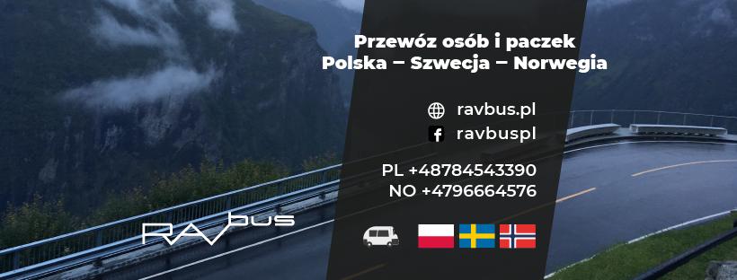 ravbus.pl paczki do szwecji i norwegii