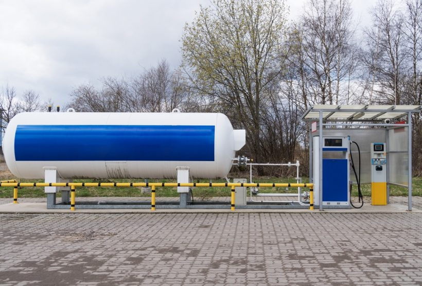 Zbiorniki na benzynę