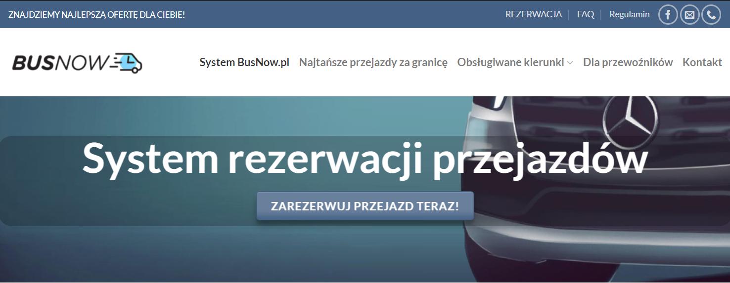 Busy za granicę - BusNow.pl